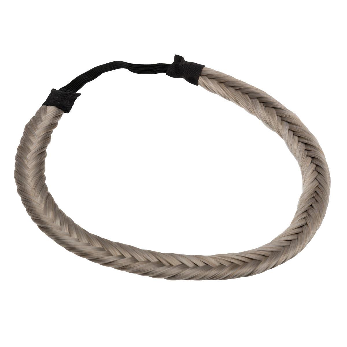 Synthetic Braided Headband 10.5 Grey 0 cm