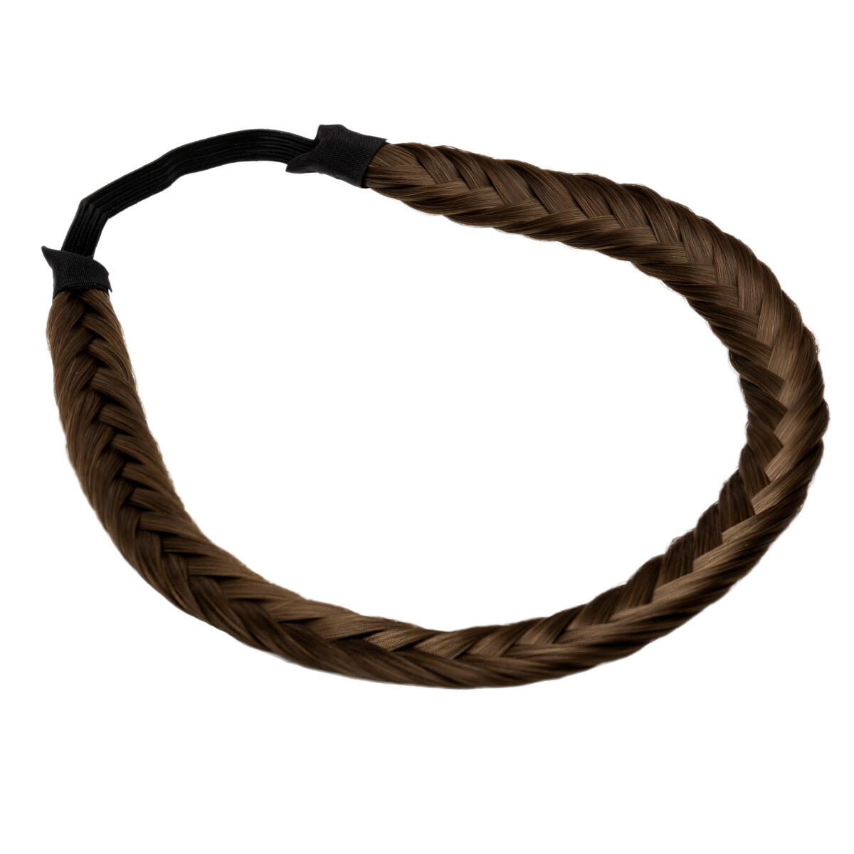 Synthetic Braided Headband 5.0 Brown