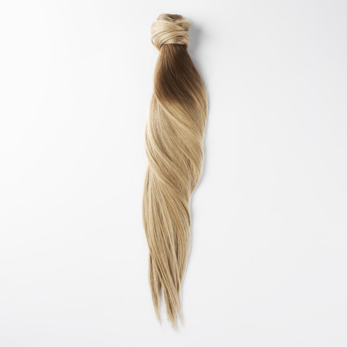 Clip-in Ponytail Ponytail made of real hair B5.4/7.2 Cinnamon Blonde Balayage 50 cm