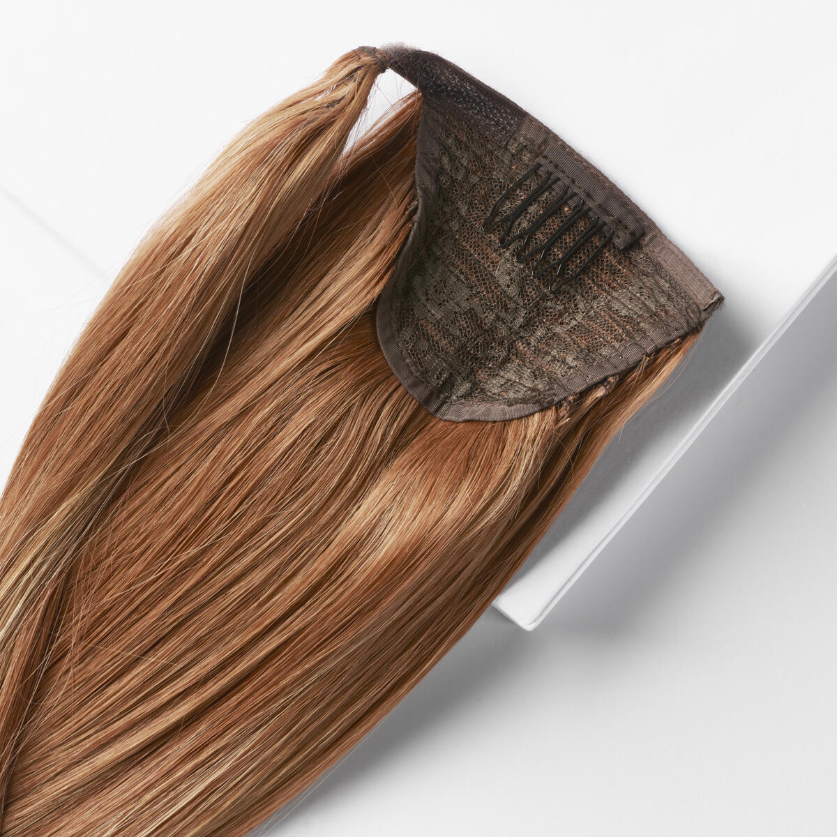 Clip-in Ponytail C6.7/6.3 Sunset Red ColorMelt 50 cm