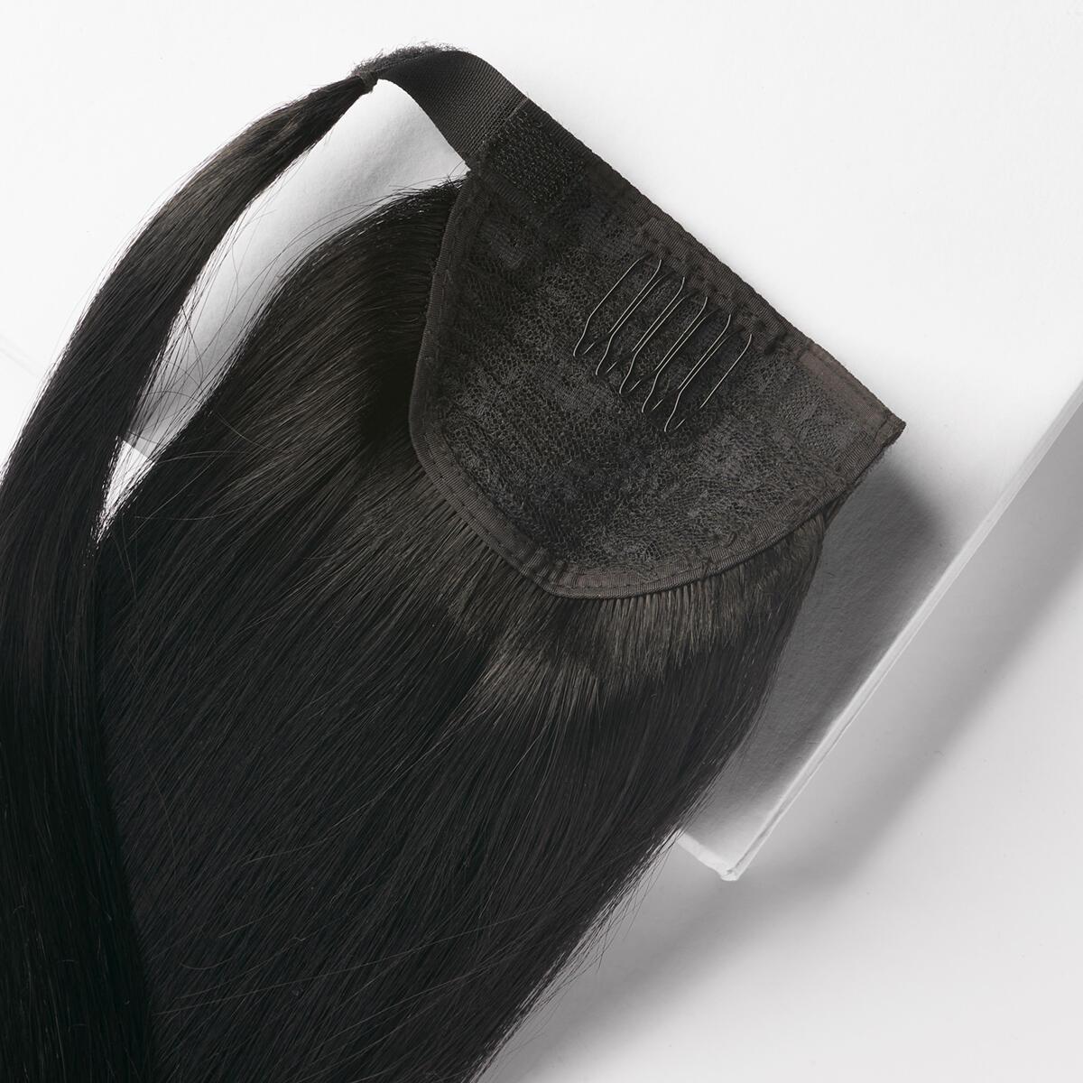 Clip-in Ponytail 1.0 Black 60 cm