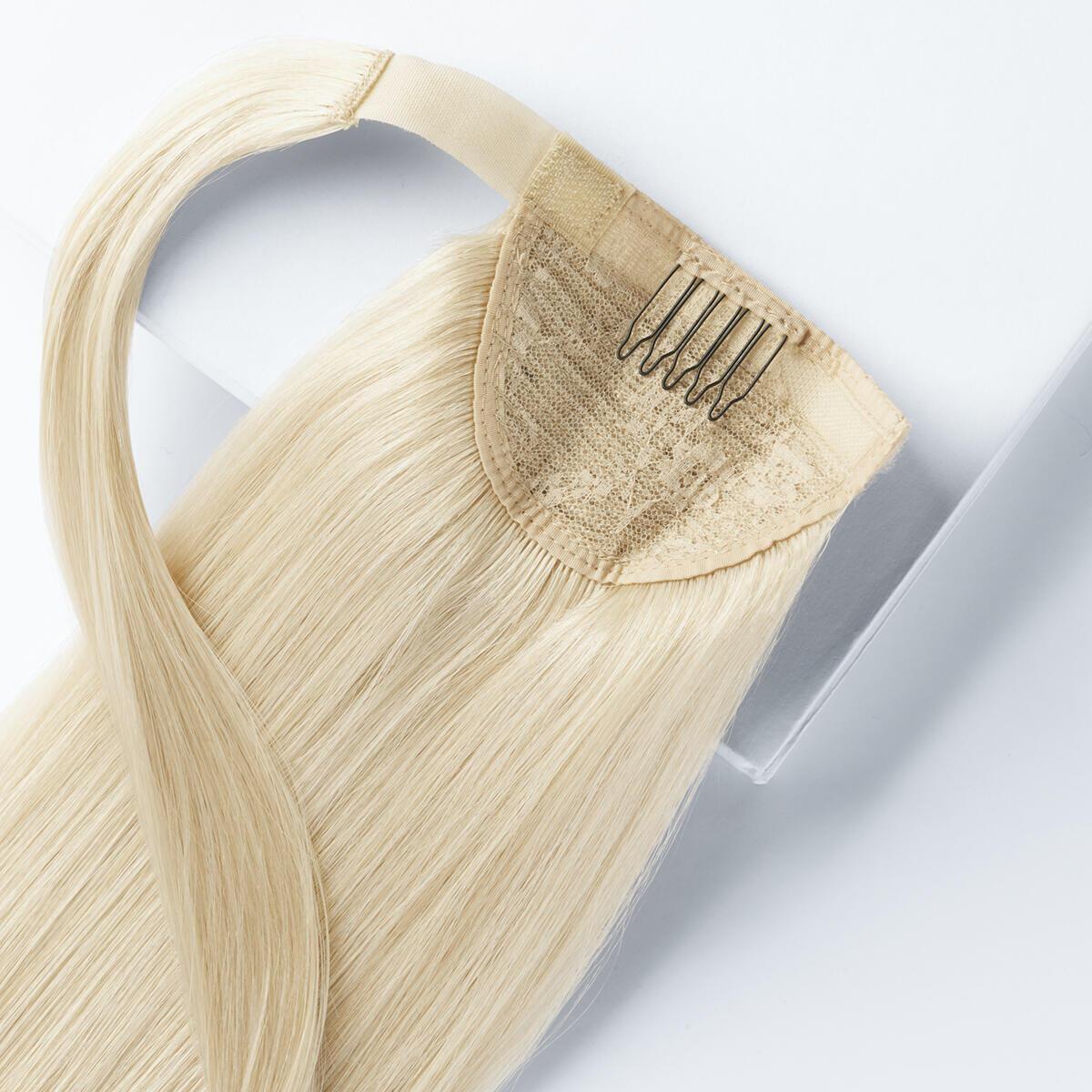 Clip-in Ponytail – Limited Edition 10.10 Platinum Blonde 80 cm