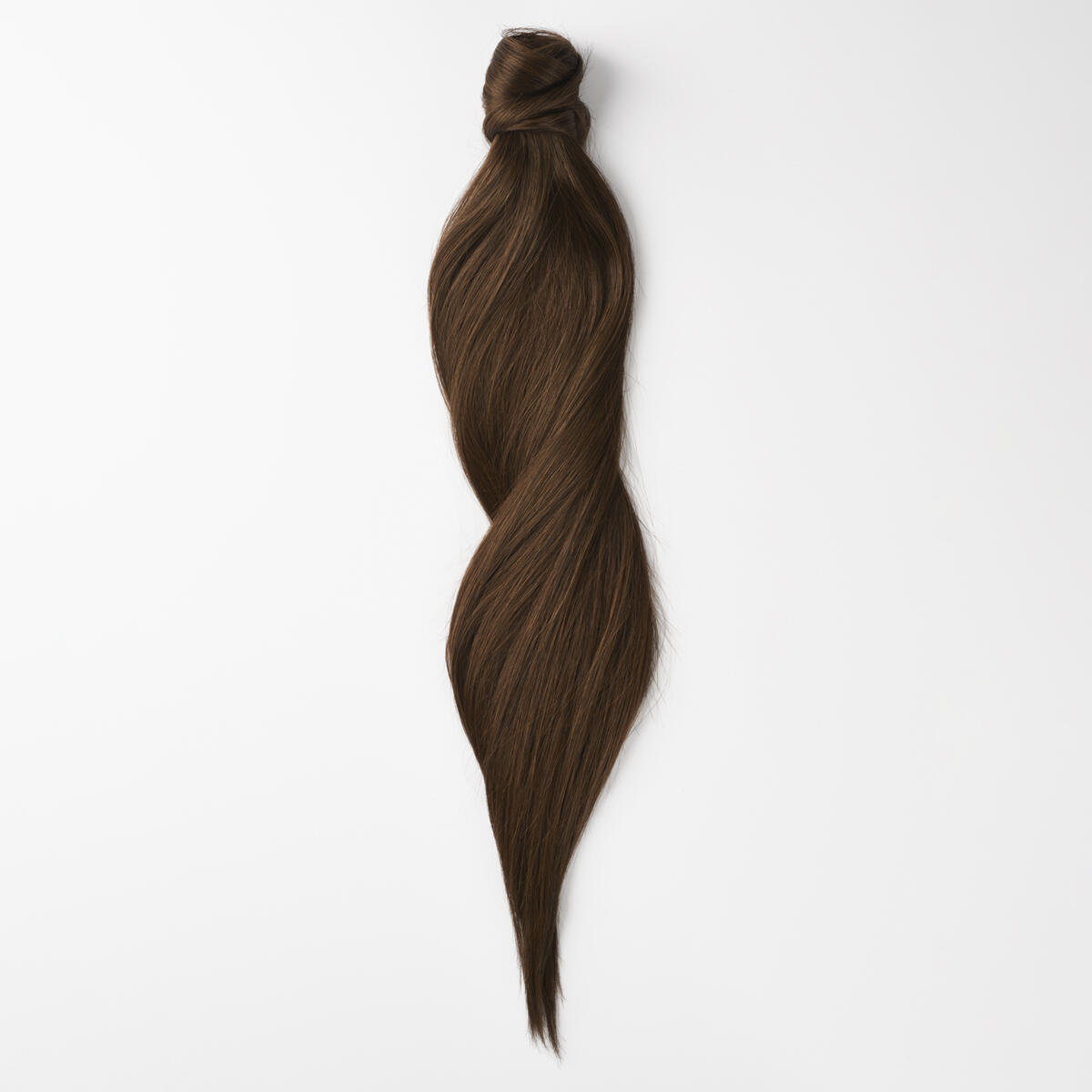 Clip-in Ponytail Ponytail made of real hair 2.2 Coffee Brown 50 cm