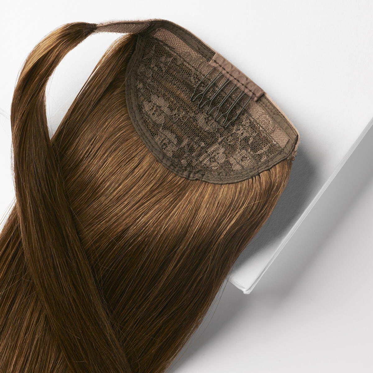 Clip-in Ponytail 5.0 Brown 40 cm