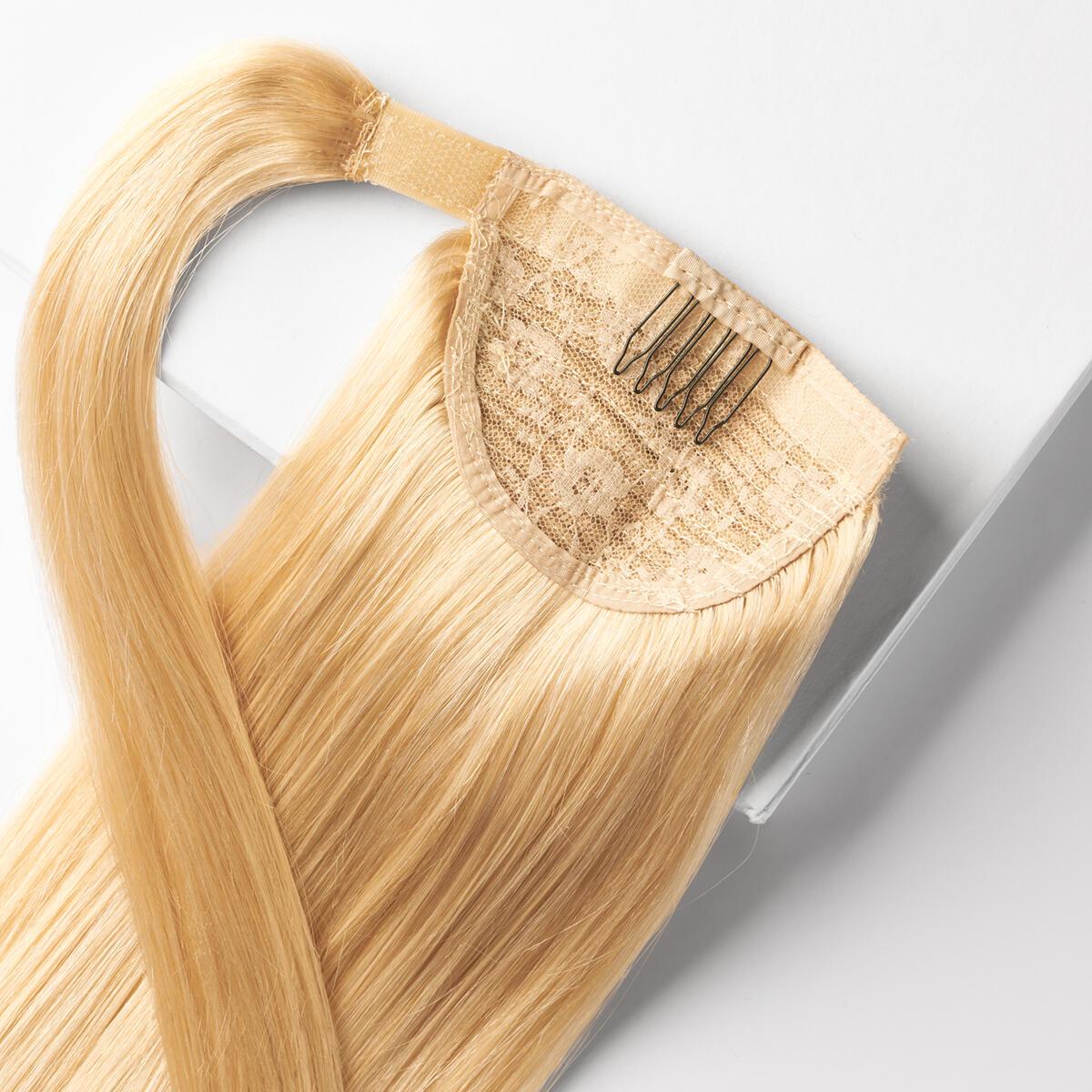 Rapunzel Of Sweden Clip In Ponytail 8 3 Honey Blonde 40 Cm