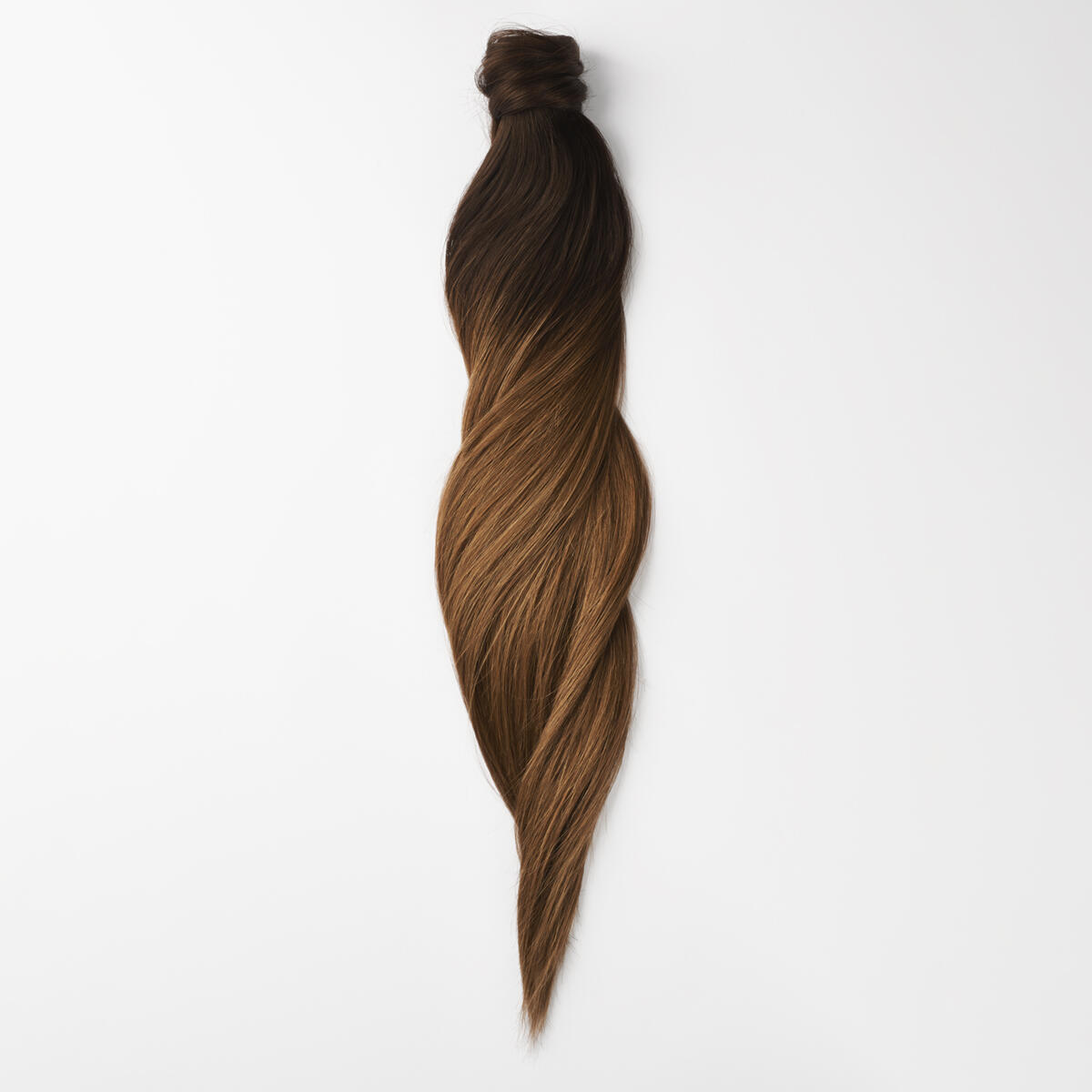 Clip-in Ponytail O2.3/5.0 Chocolate Brown Ombre 40 cm