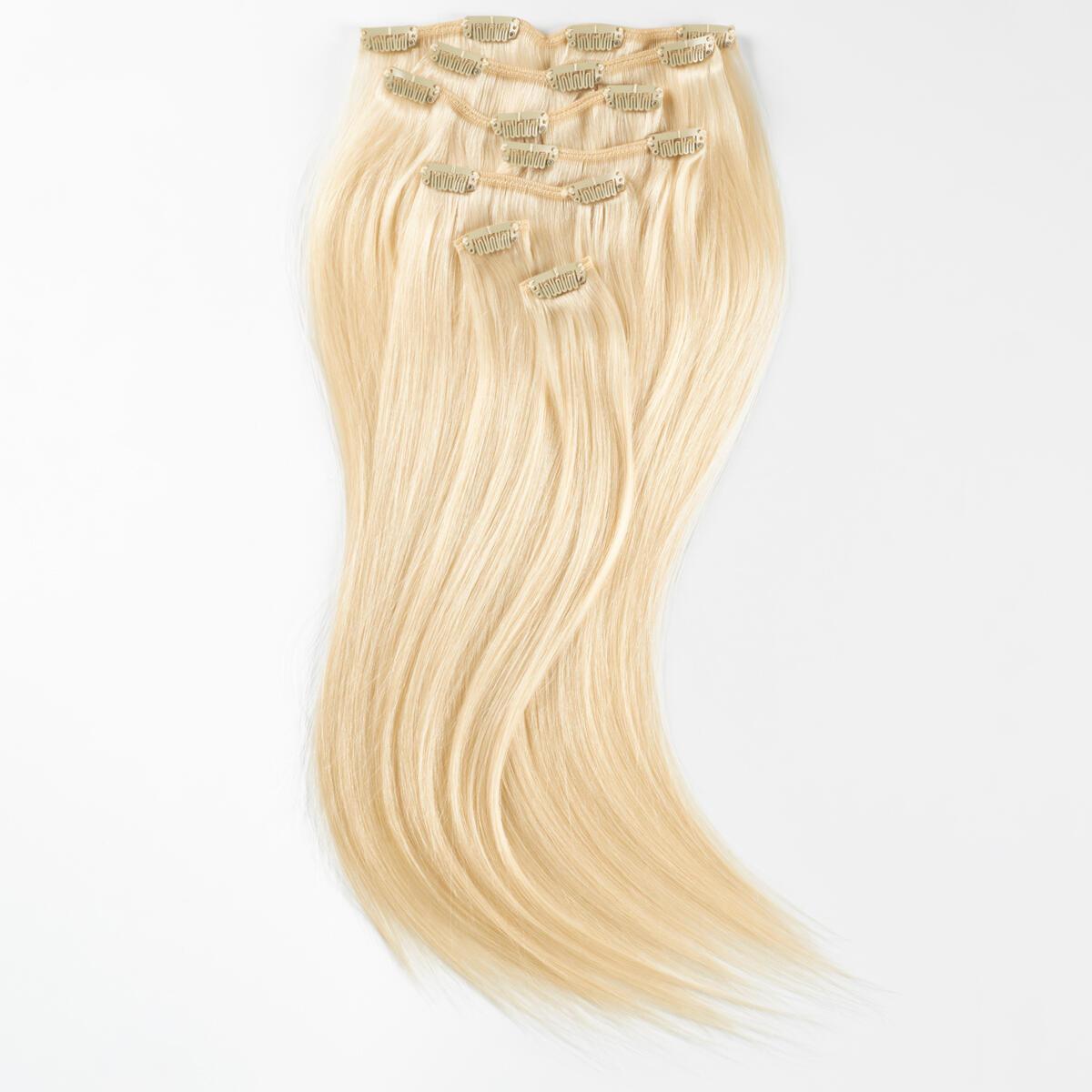 Clip-on set Premium 7 pieces 10.10 Platinum Blonde 50 cm