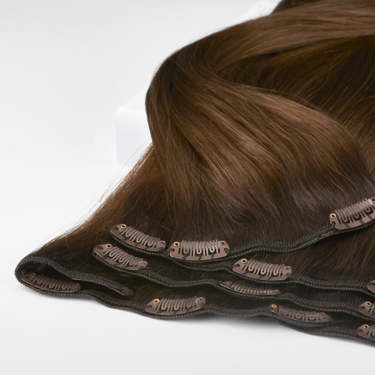 Clip-on set R2.3/5.0 Chocolate Brown Root 50 cm
