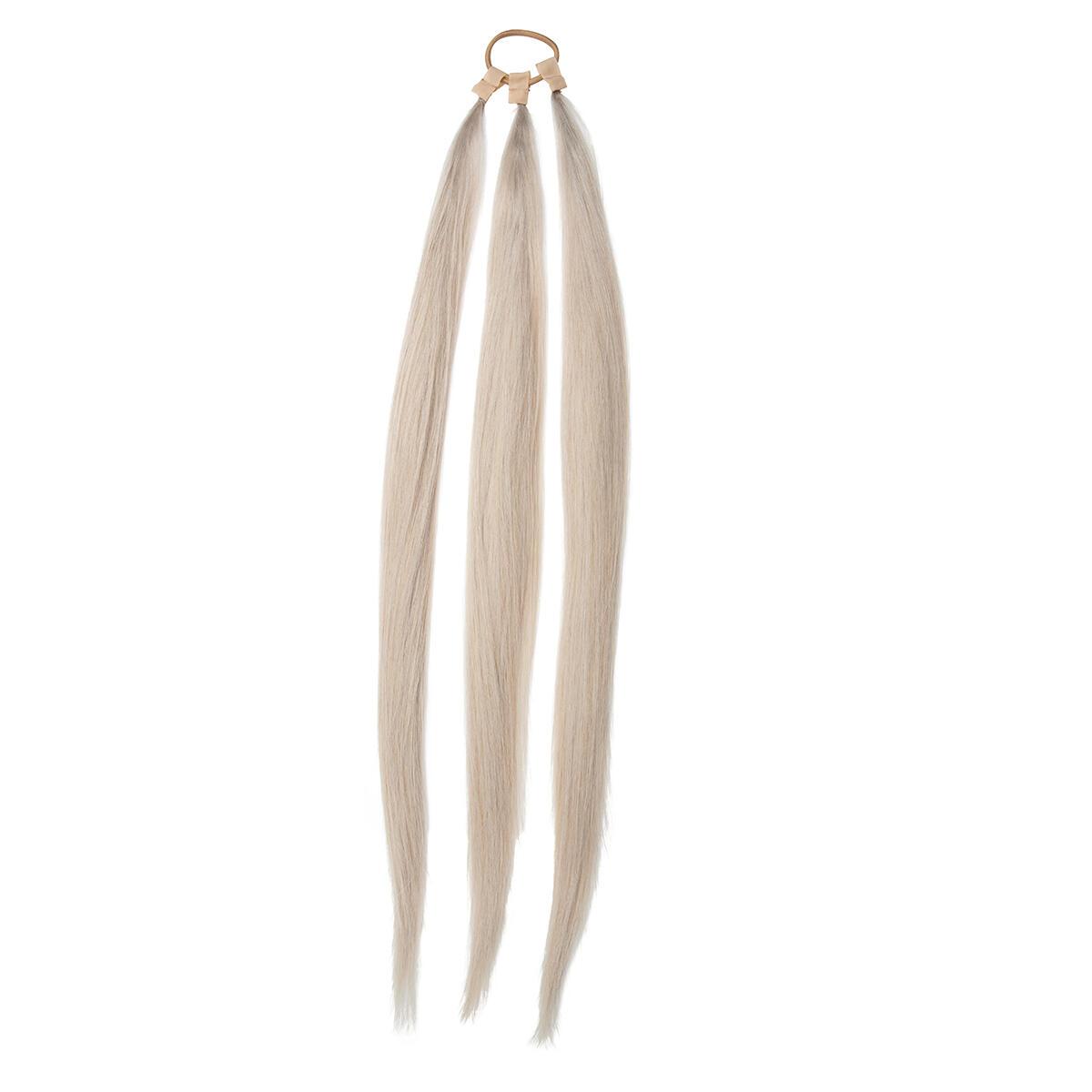 Rapunzel® Äkta löshår Easy Braid Original 10.7 Light Grey 55 cm