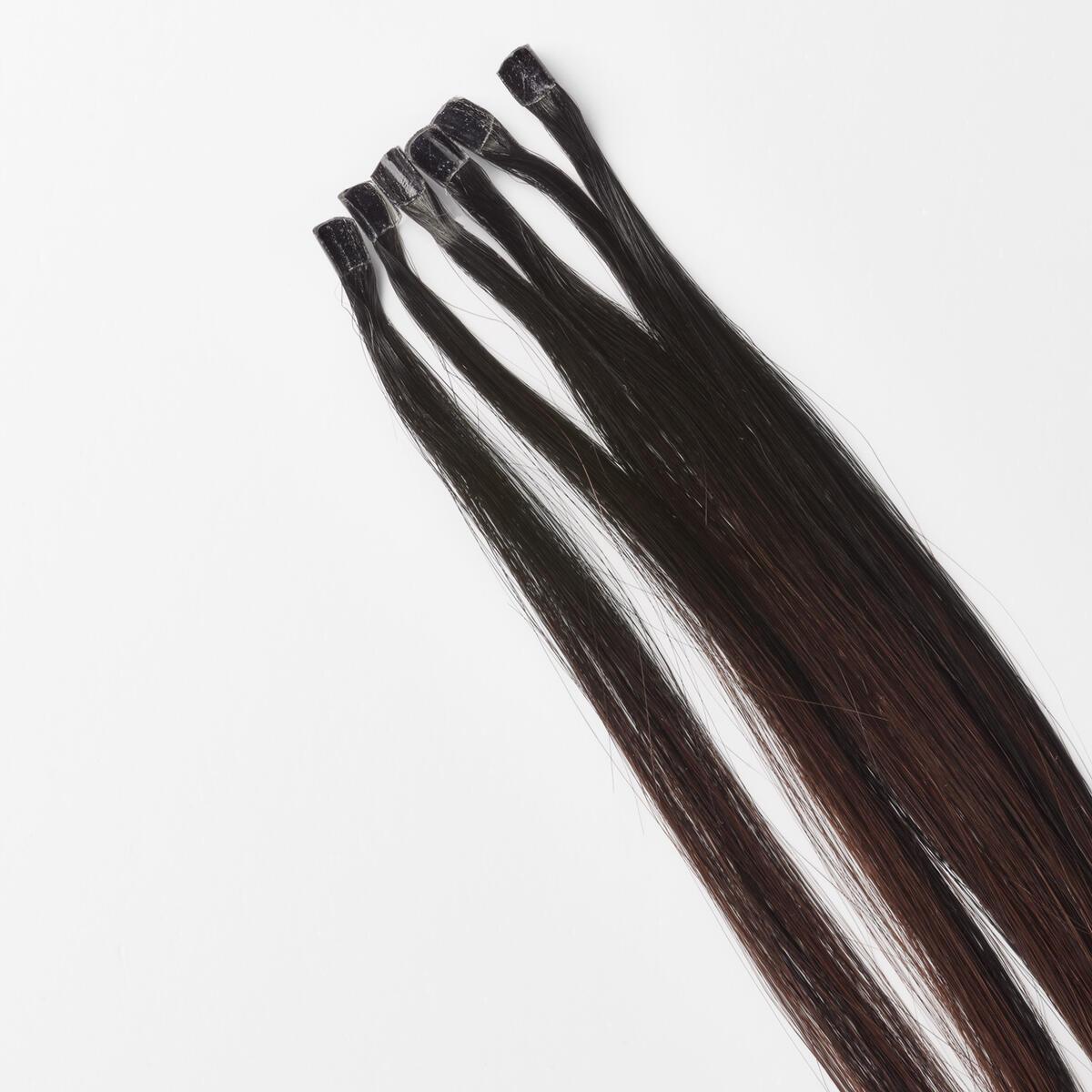 Nail Hair B1.0/6.12 Cherry Infused Black Balayage 50 cm