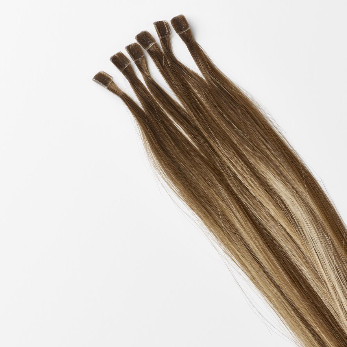 Nail Hair B5.0/8.3 Brownish Blonde Balayage 40 cm