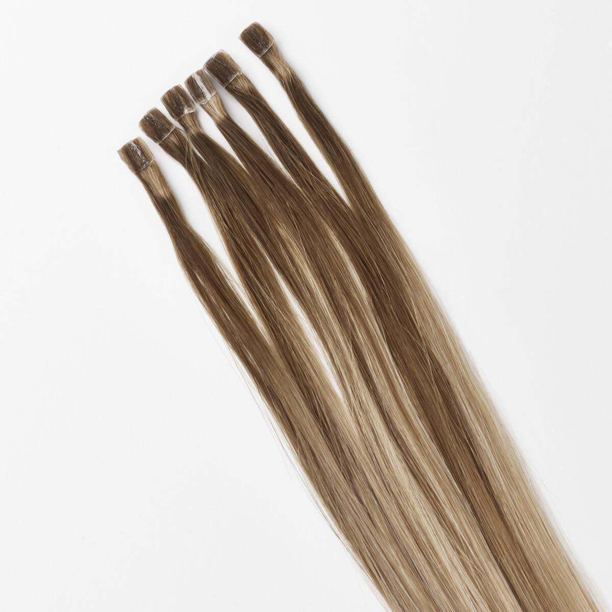 Nail Hair Premium B5.1/7.3 Brown Ash Blonde Balayage 50 cm