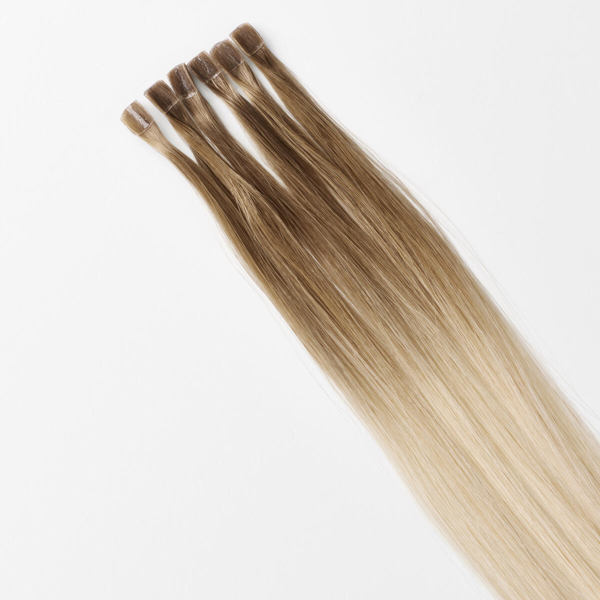 Nail Hair Premium B7.3/10.10 Cool Platinum Blonde Balayage 40 cm