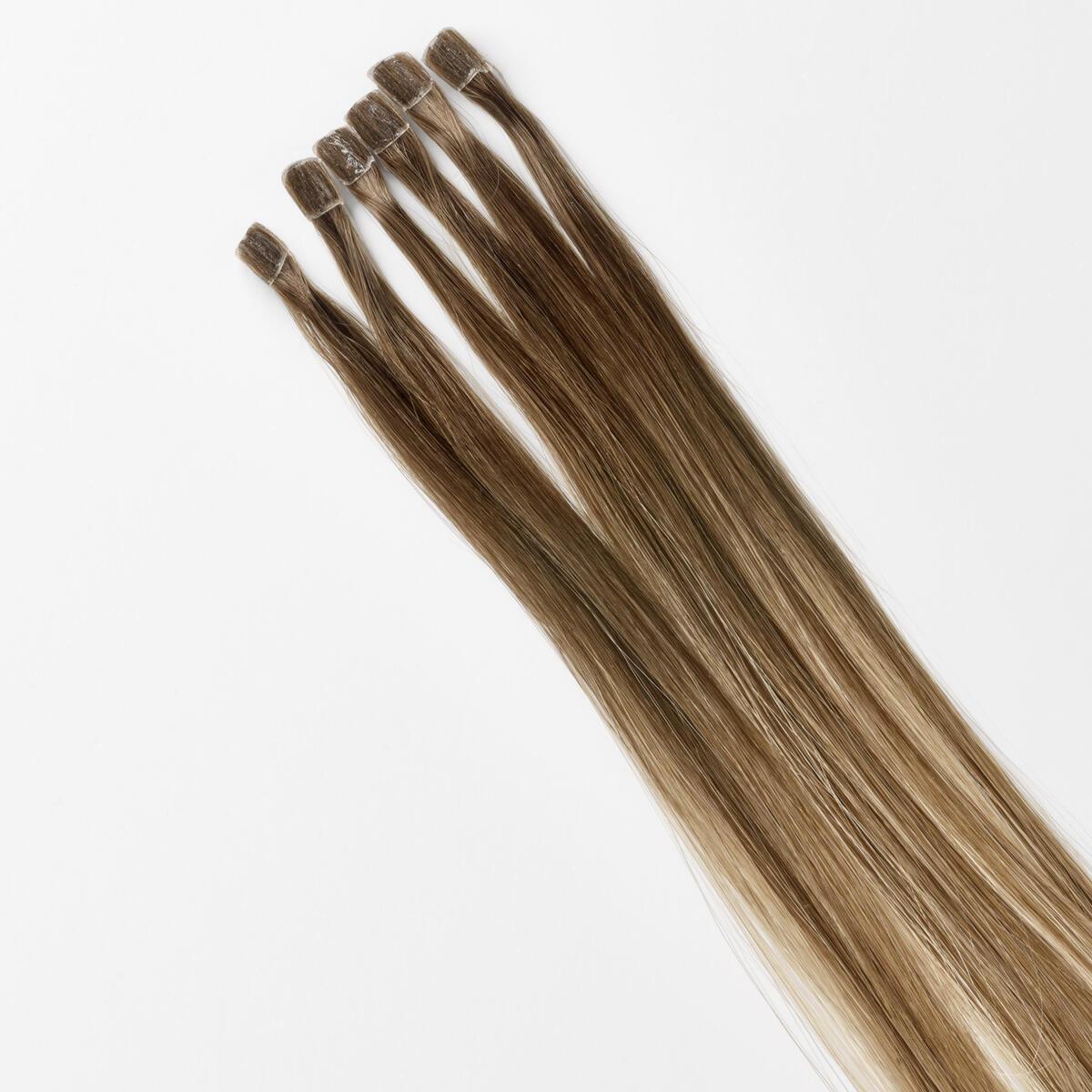 Nail Hair Premium C2.2/5.1 Natural Brown ColorMelt 40 cm