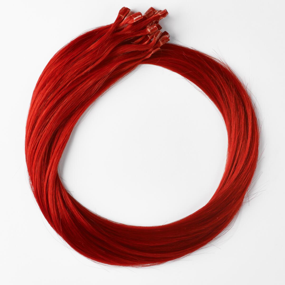 Nail Hair Premium Straight 6.0 Red Fire 50 cm