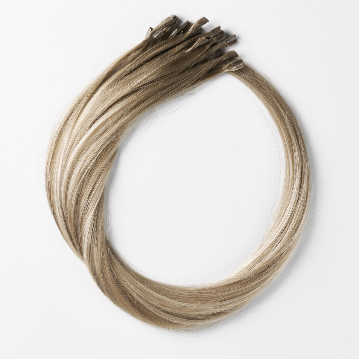 Nail Hair B2.6/10.7 Dark Ashy Blonde Balayage 40 cm