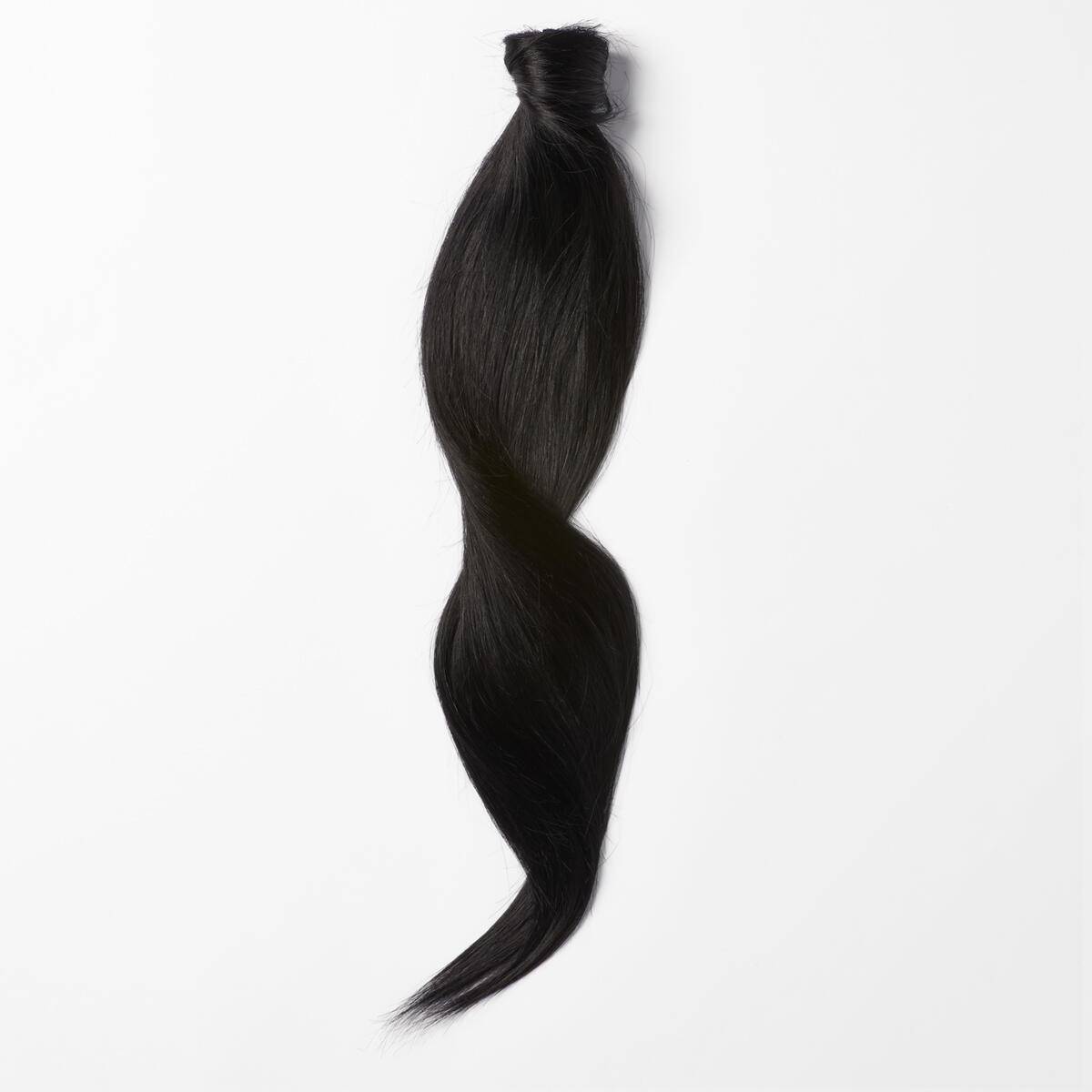 Sleek Clip-in Ponytail Ponytail made of real hair 1.0 Black 40 cm
