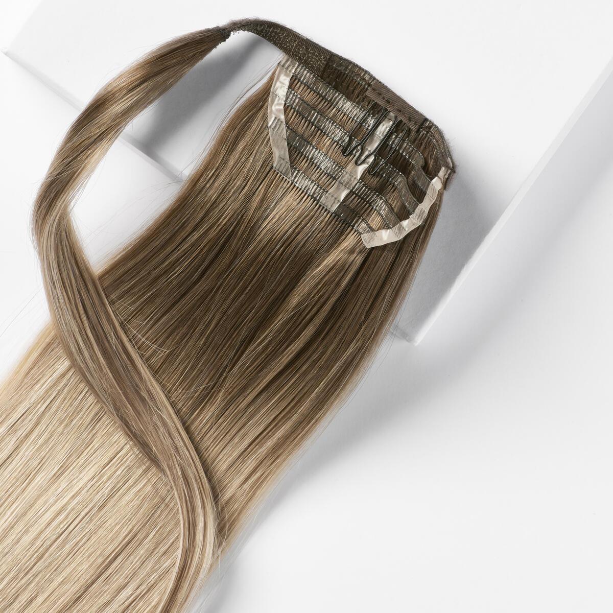 Sleek Clip-in Ponytail B2.6/10.7 Dark Ashy Blonde Balayage 40 cm