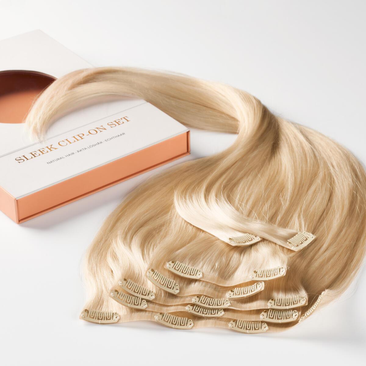 Sleek Clip-on set 10.8 Light Blonde 50 cm