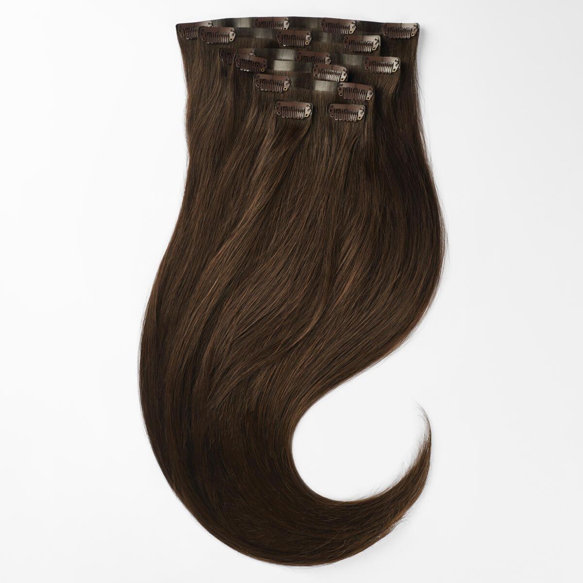 Sleek Clip-on set 7 pieces 2.3 Chocolate Brown 50 cm