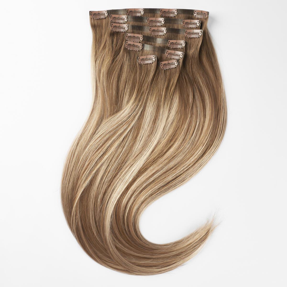 Sleek Clip-on set 7 pieces B5.1/7.3 Brown Ash Blonde Balayage 50 cm