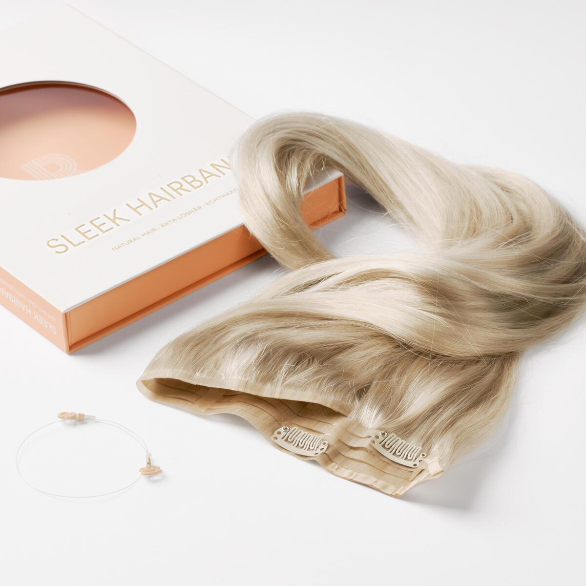 Sleek Hairband 10.7 Light Grey 50 cm