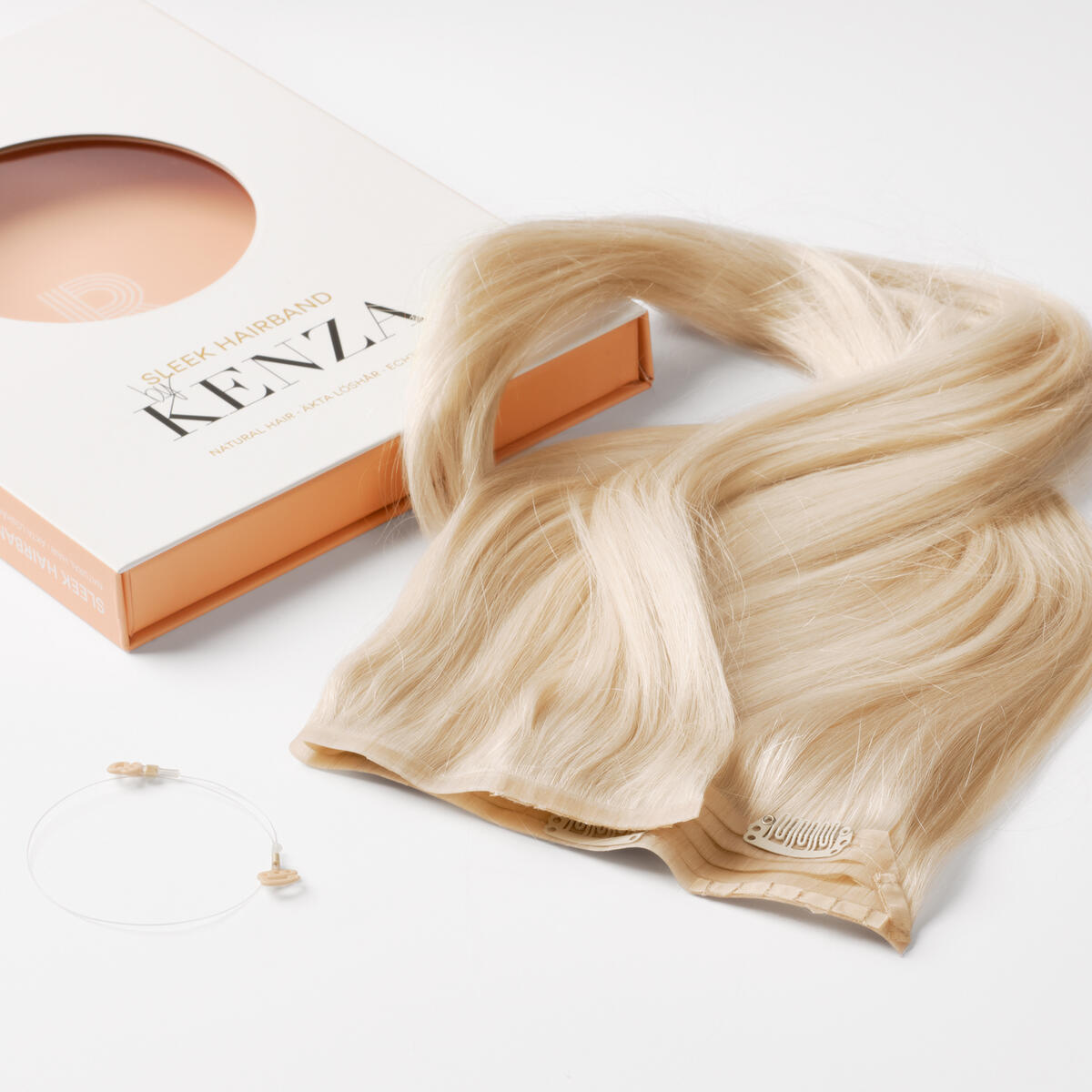 Sleek Hairband 10.8 Light Blonde 50 cm