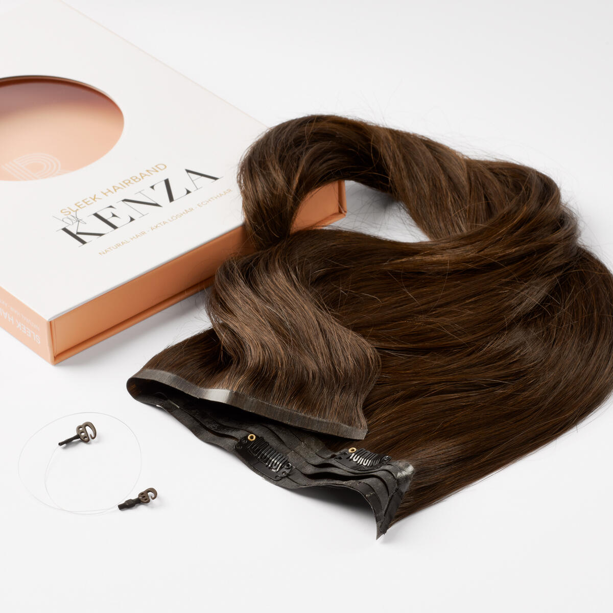 Sleek Hairband 2.3 Chocolate Brown 50 cm
