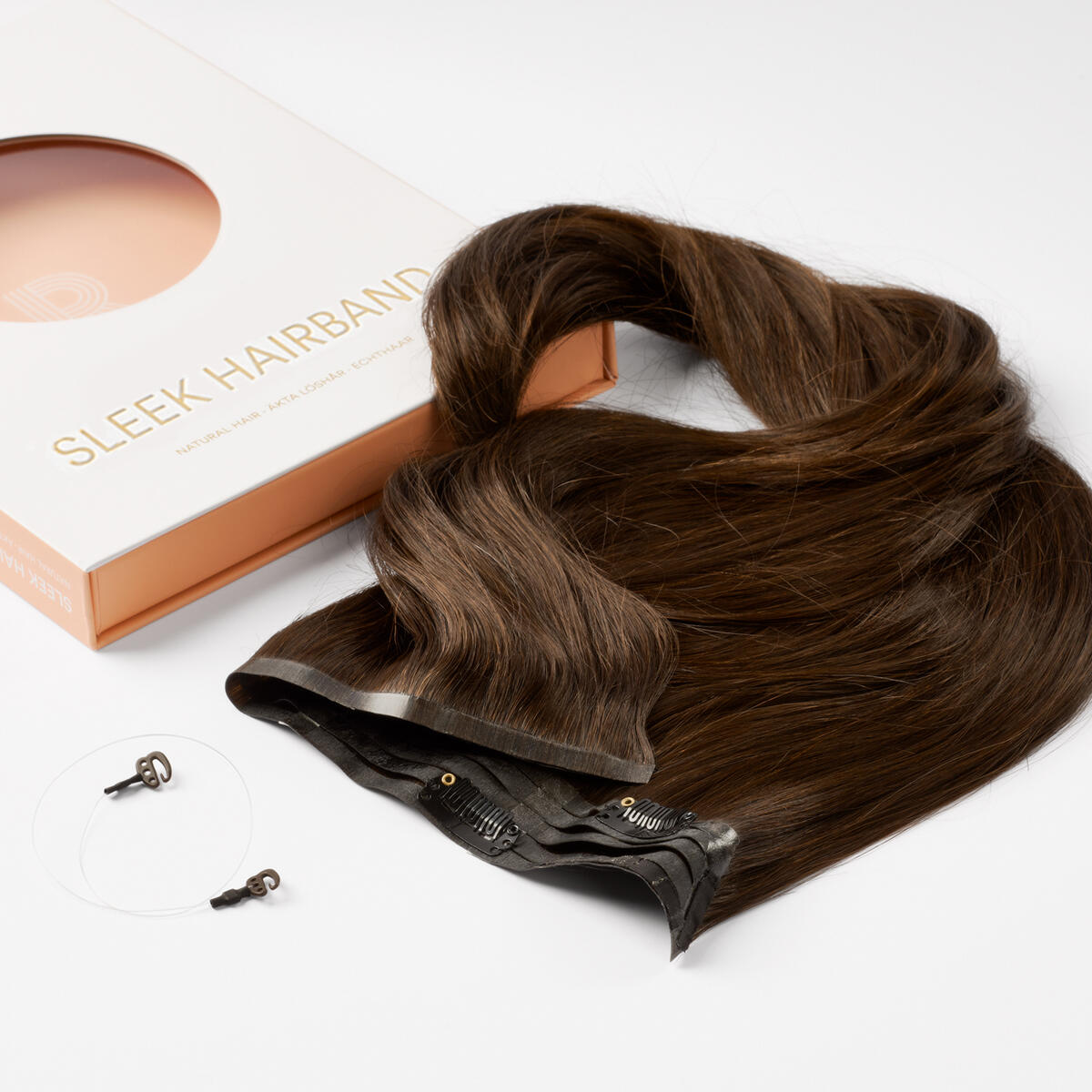Sleek Hairband 2.3 Chocolate Brown 50 cm