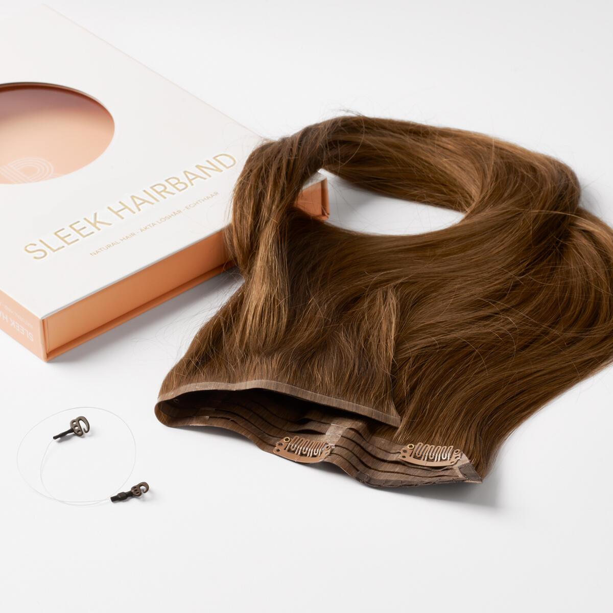 Sleek Hairband 5.0 Brown 50 cm