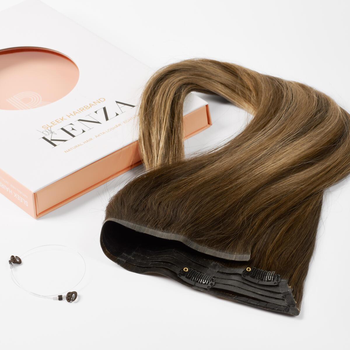 Sleek Hairband B2.3/5.0 Hazelnut Caramel Balayage 50 cm