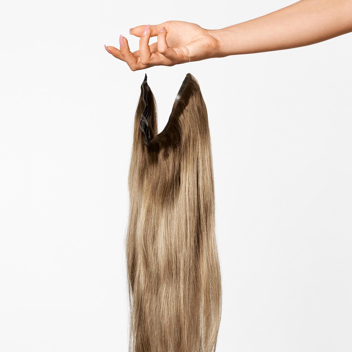 Sleek Hairband B5.0/8.3 Brownish Blonde Balayage 50 cm