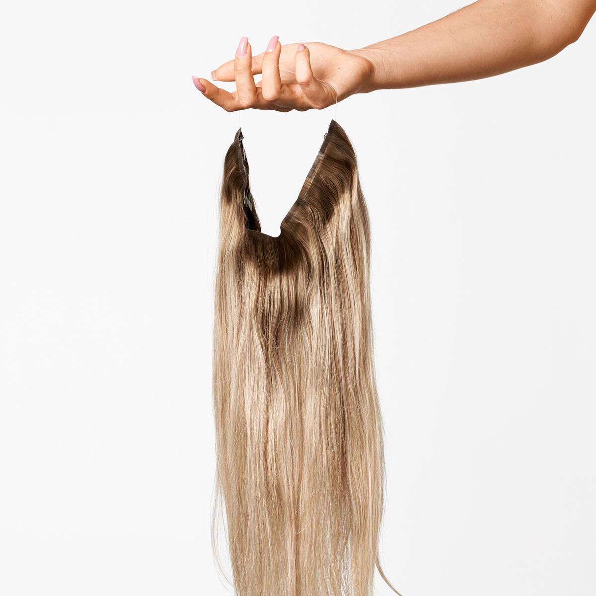 Sleek Hairband B5.1/7.3 Brown Ash Blonde Balayage 50 cm