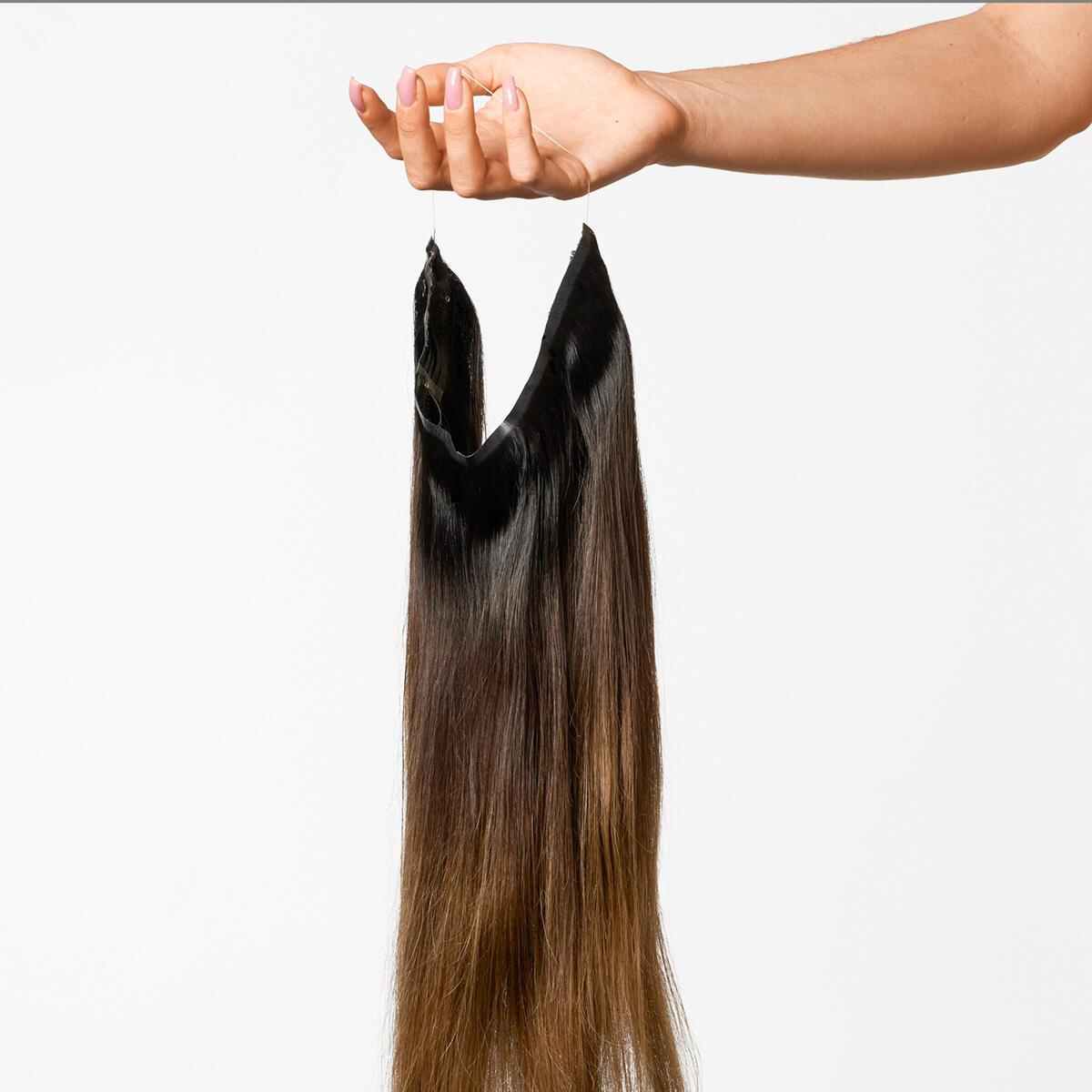 Sleek Hairband C1.2/5.0 Deep Brown ColorMelt 50 cm