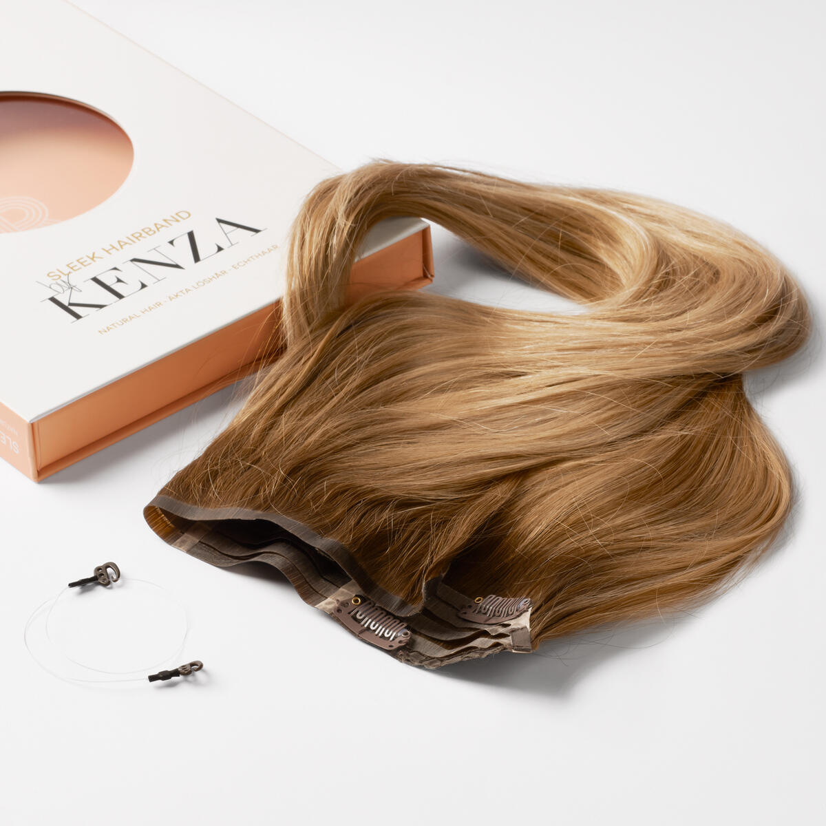 Sleek Hairband C2.0/7.4 Caramel Bronde ColorMelt 50 cm