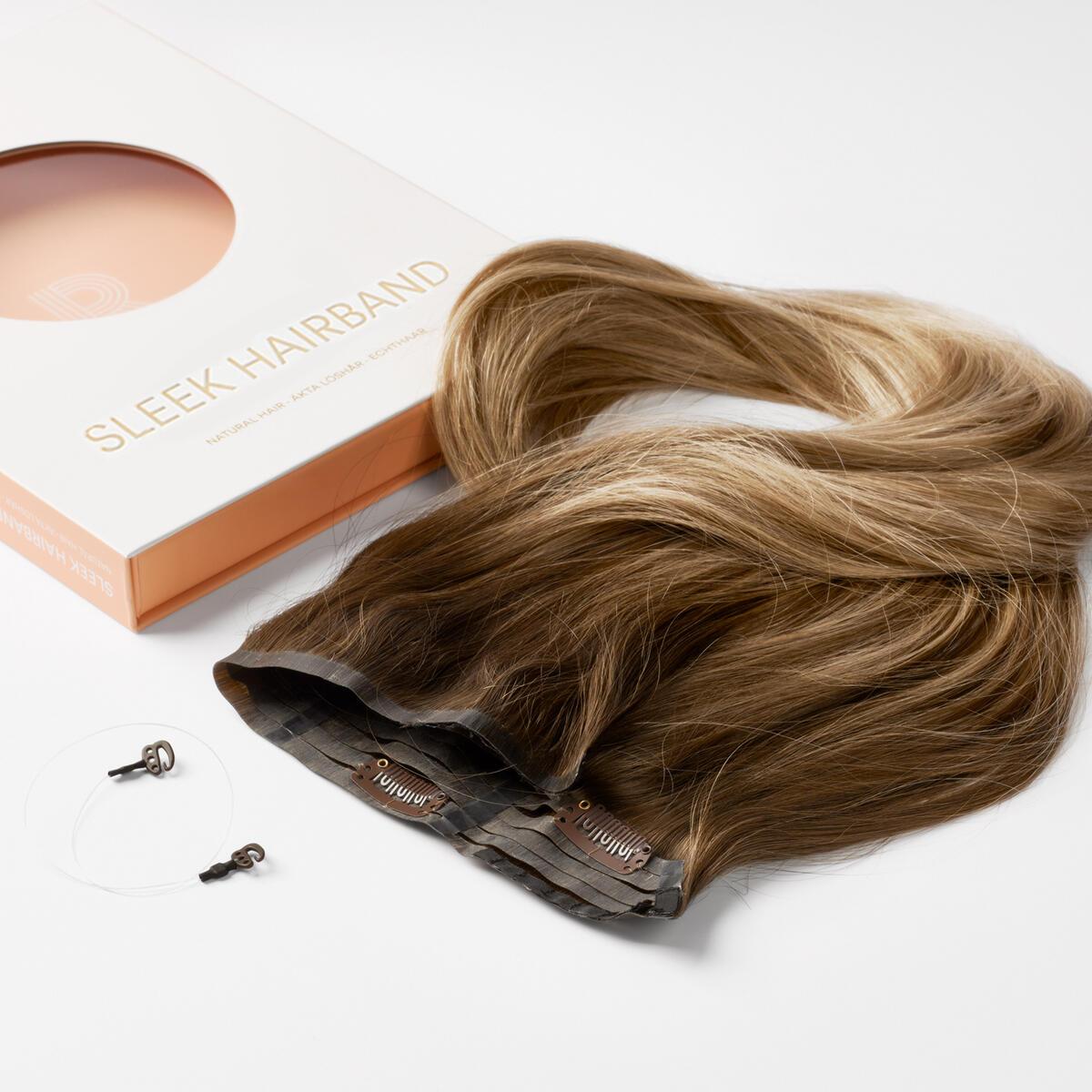 Sleek Hairband C2.2/5.1 Natural Brown ColorMelt 50 cm