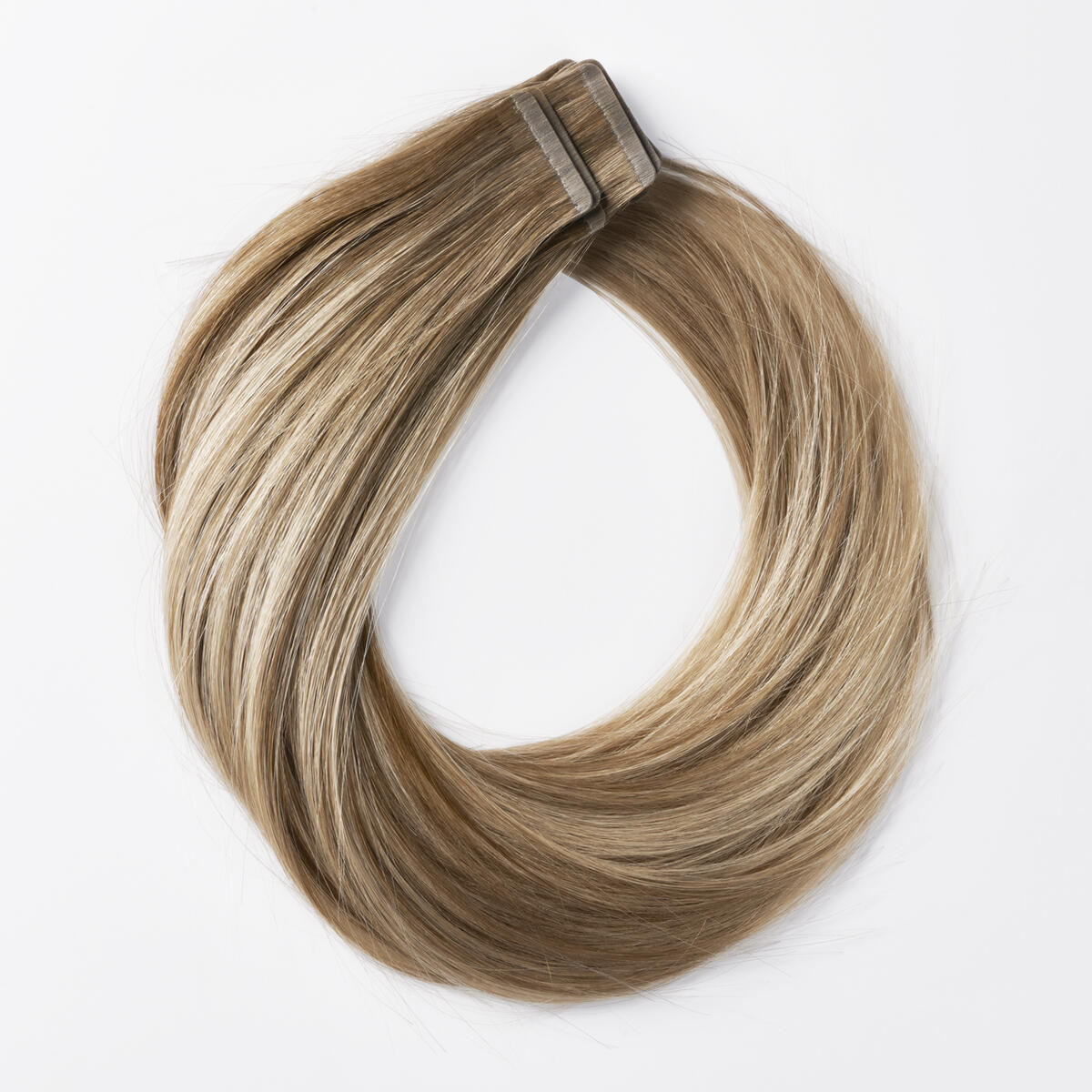Sleek Tape Extension B5.1/7.3 Brown Ash Blonde Balayage 45 cm