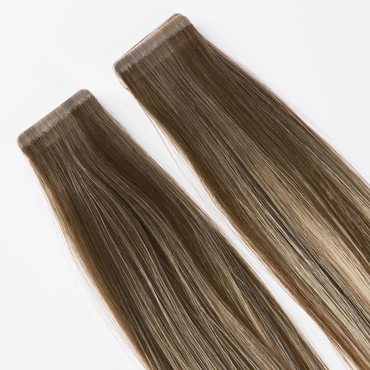 Sleek Tape Extension B5.1/7.3 Brown Ash Blonde Balayage 50 cm