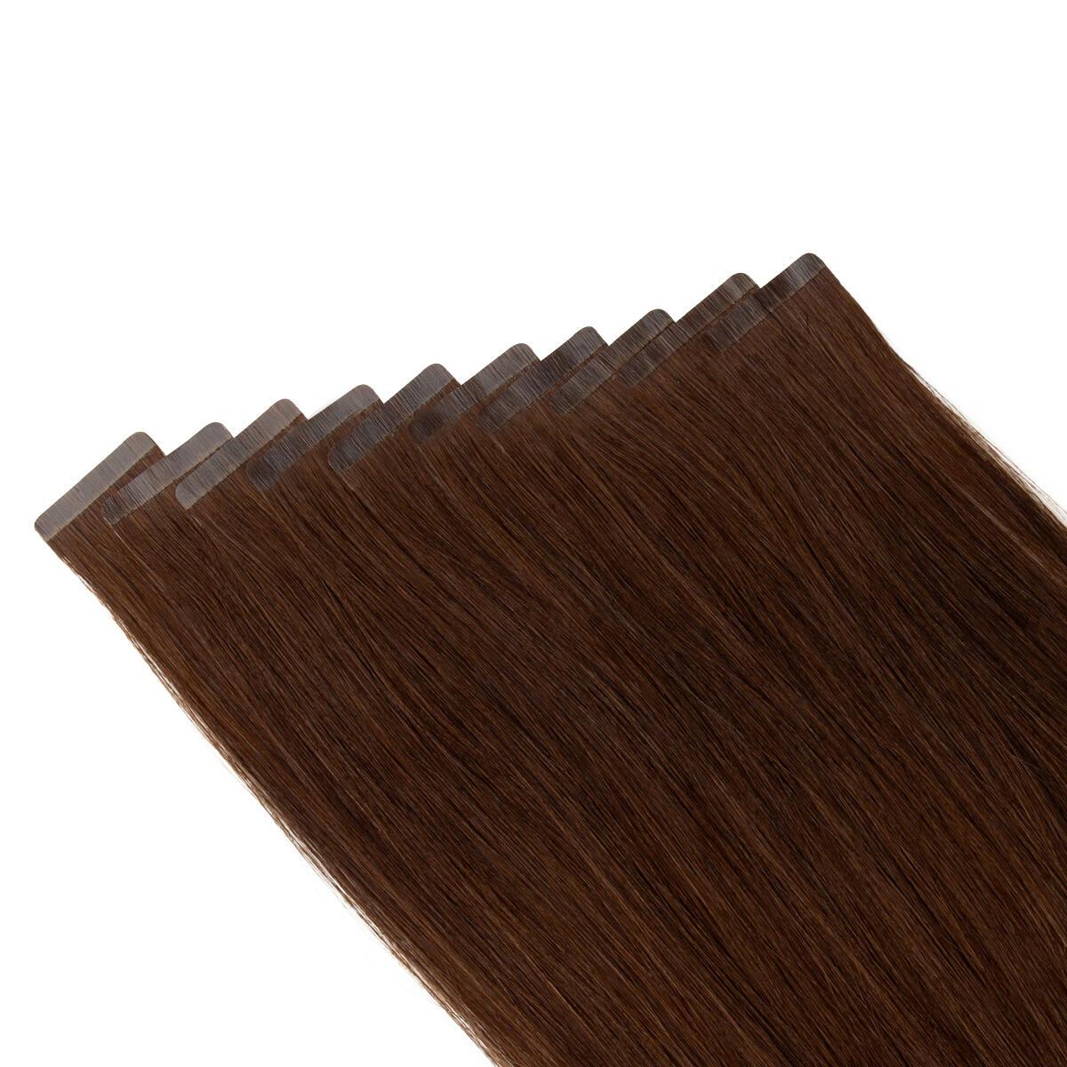 Sleek Tape Extension 2.0 Dark Brown 25 cm