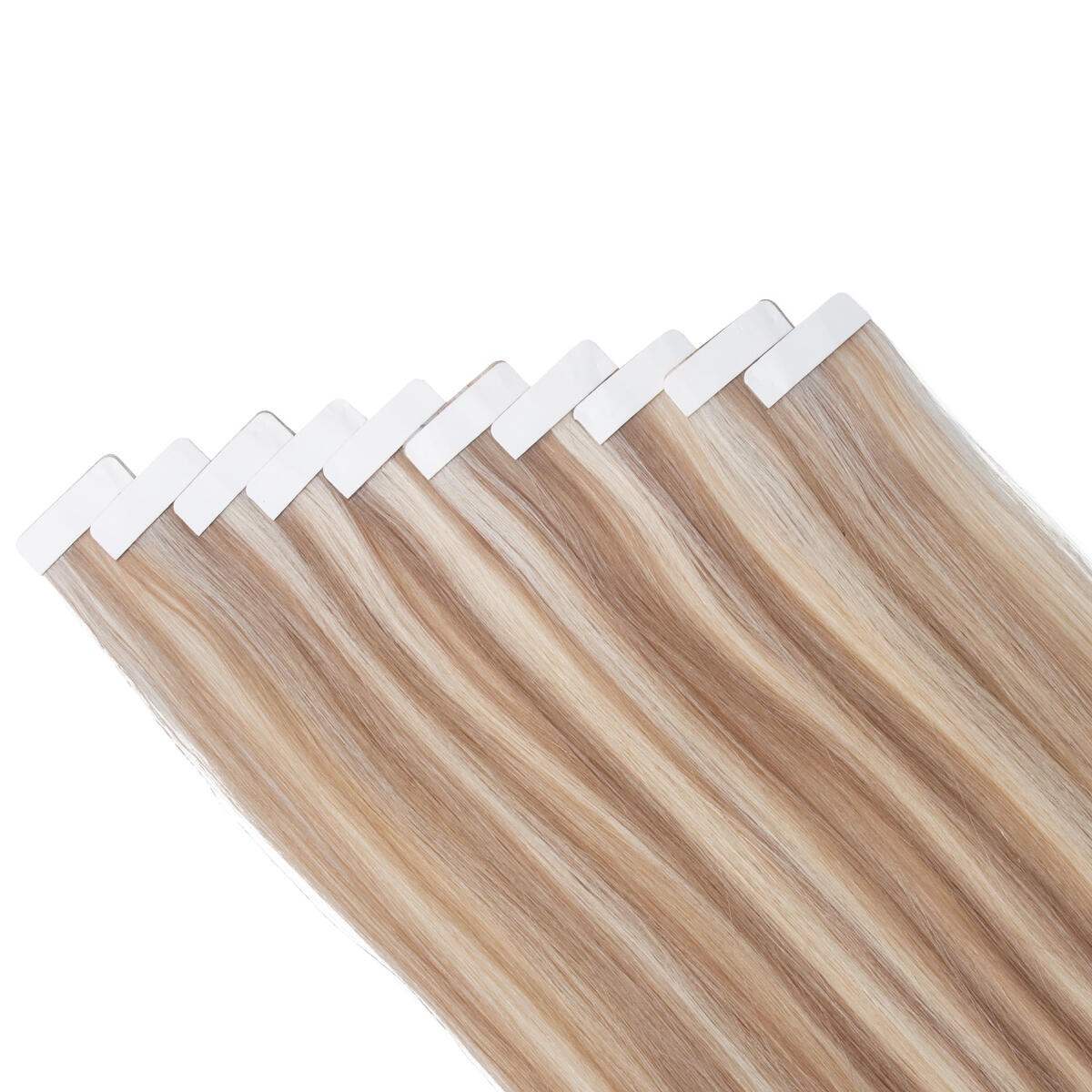 Rapunzel Sleek Tape Extension M7.3/10.8 Cendre Ash Blonde Mix 25 cm
