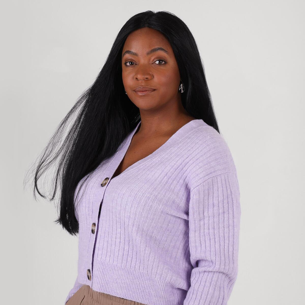 Lace Wig 1.0 Black 55 cm