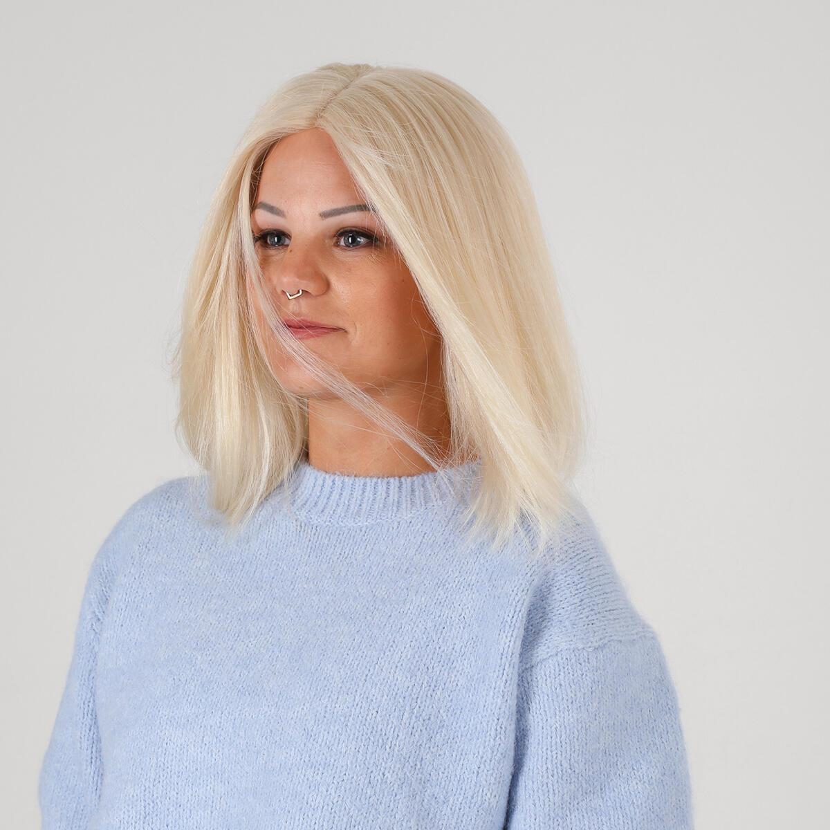 Lace Wig 10.8 Light Blonde 35 cm