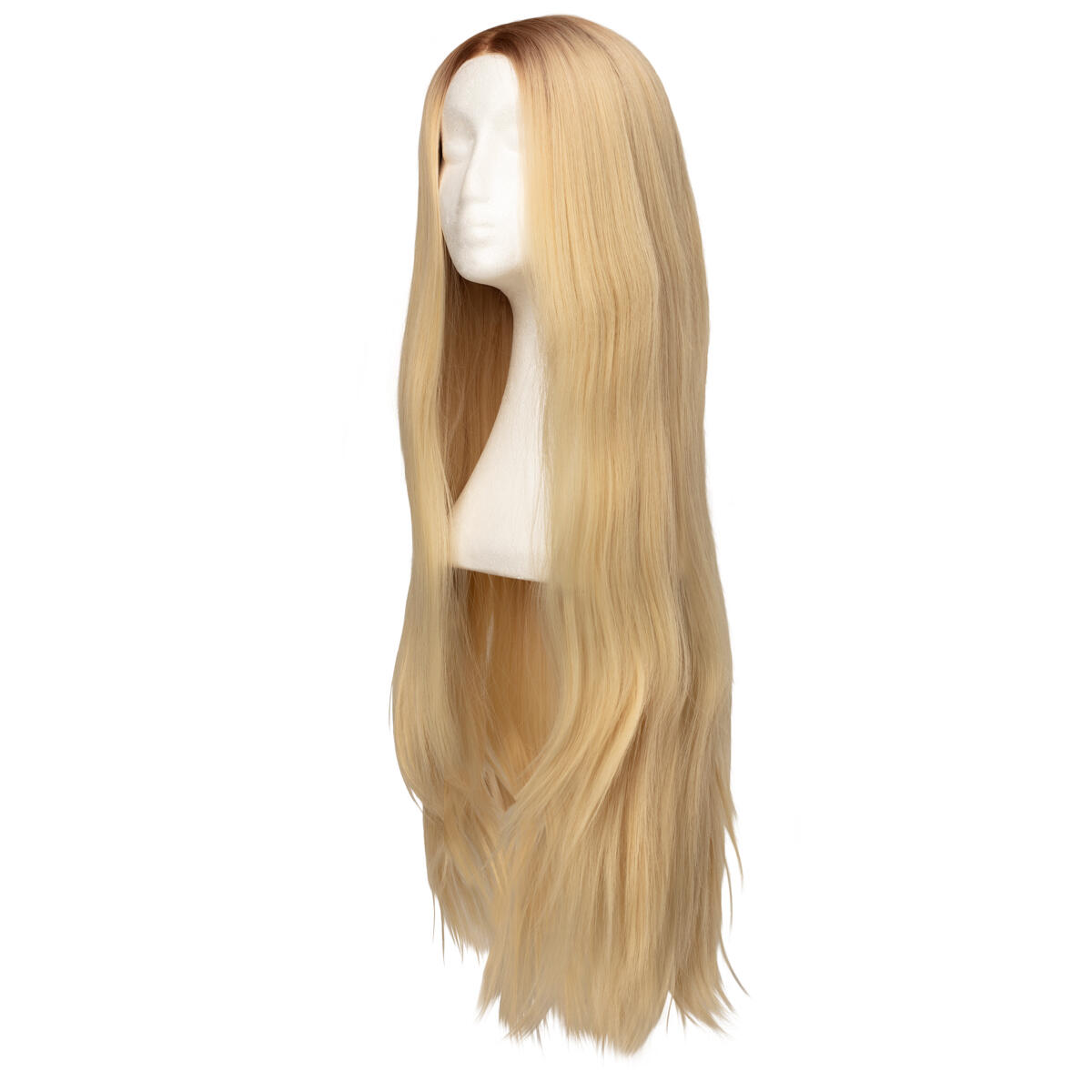 Lace Front Wig  R7.3/10.8 Cendre Ash Blonde Root 80 cm