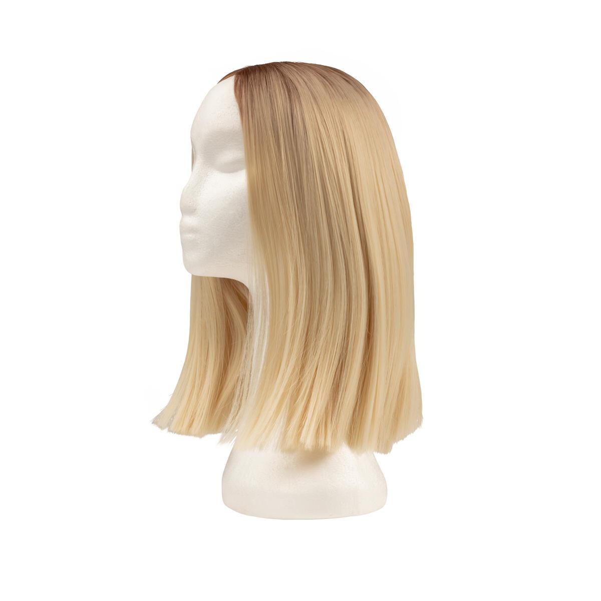 Lace Front Wig R7.3/10.8 Cendre Ash Blonde Root 35 cm