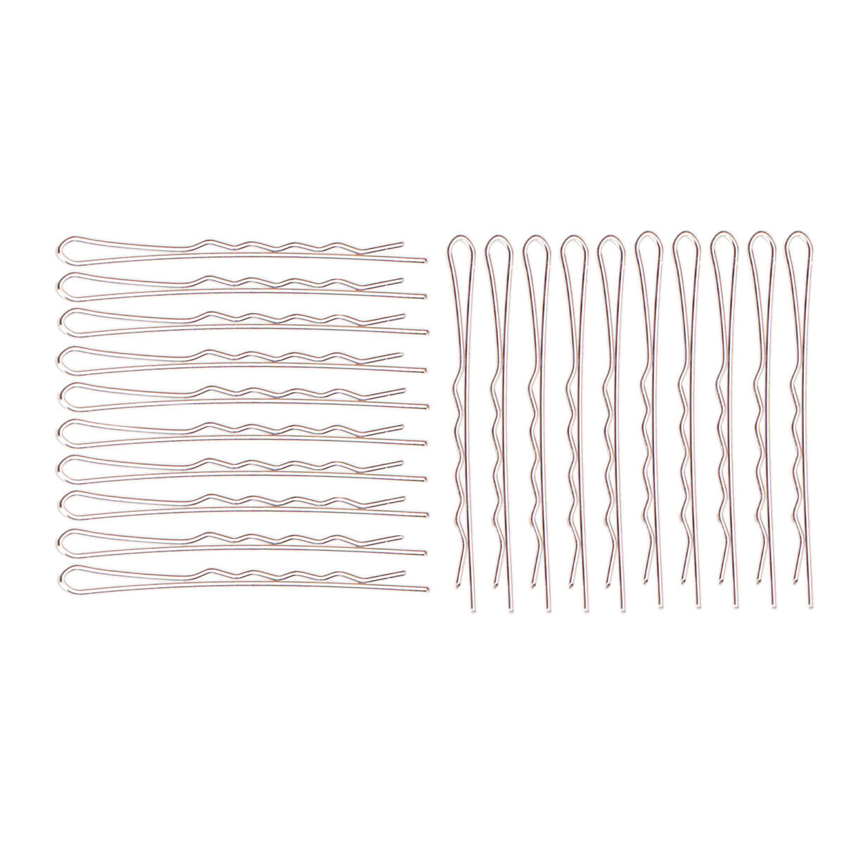 Hairpins 20-pack Silver null