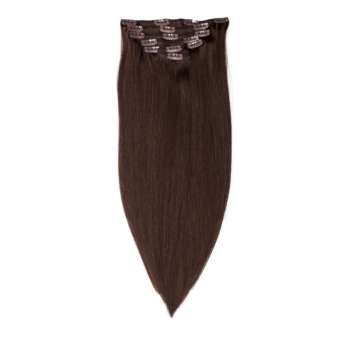 Clip-on set 2.4 Chad Wood Natural Brown 50 cm