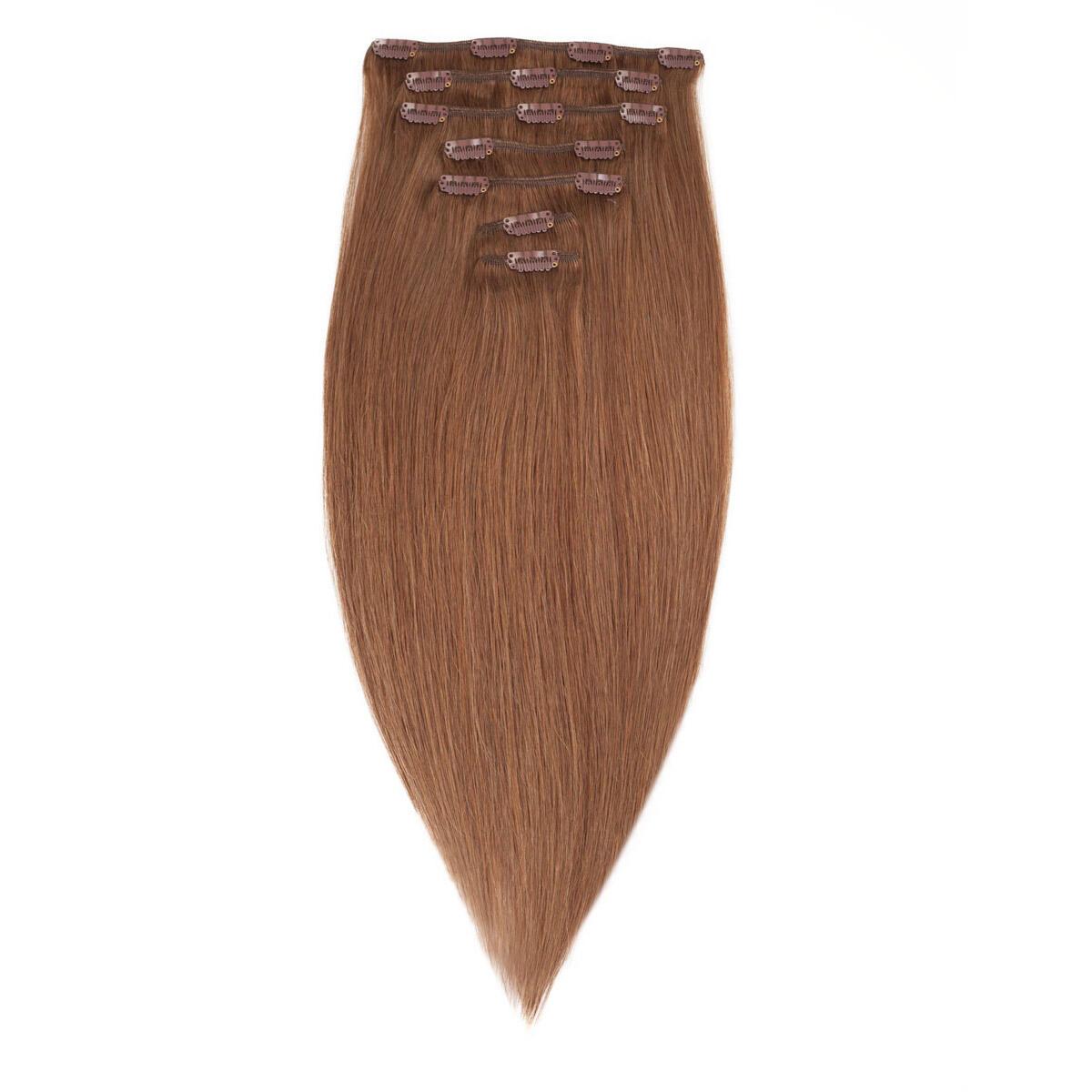 Clip-on Set Premium 7 pieces 5.1 Medium Ash Brown 50 cm