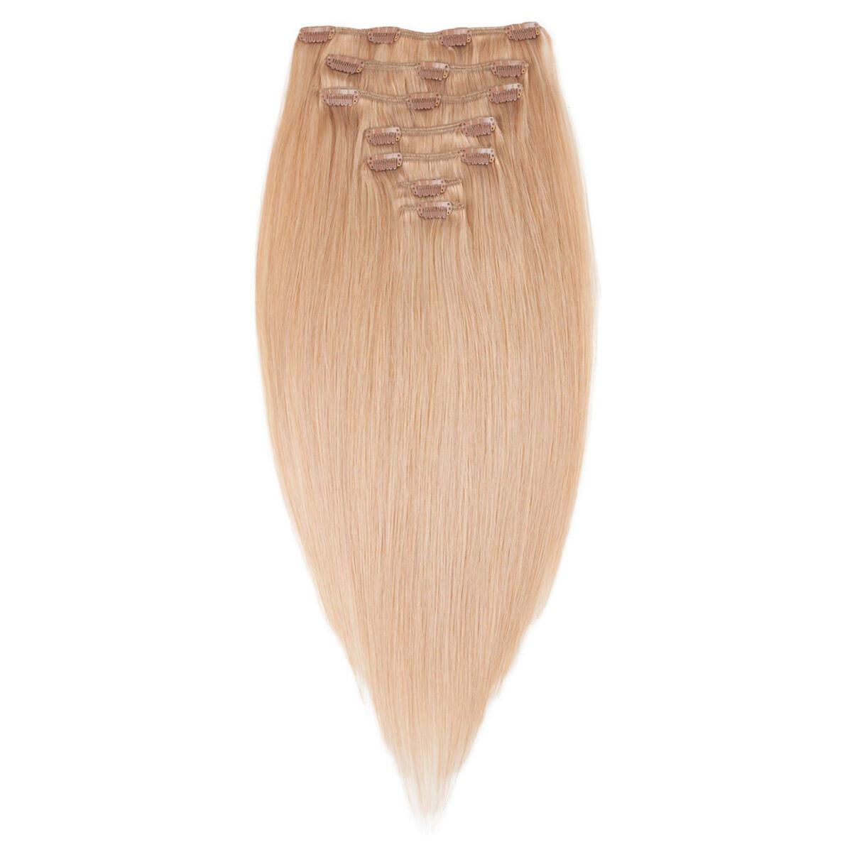 Clip-on Set Premium 7 pieces 7.5 Dark Blonde 50 cm