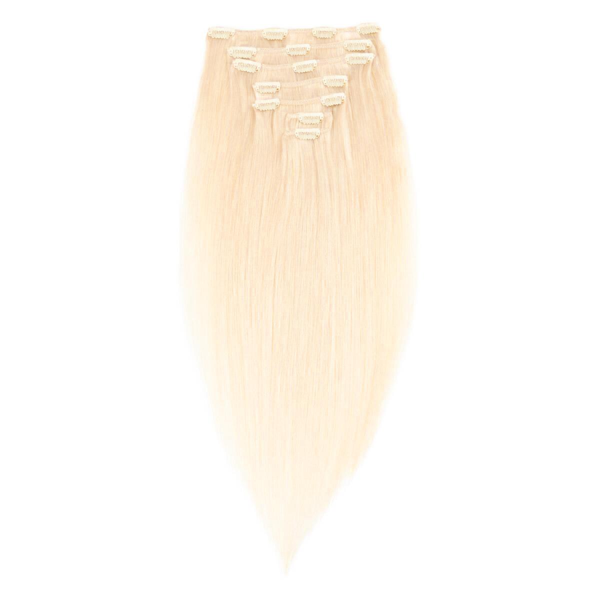 Clip-on Set Premium 7 pieces 8.0 Light Golden Blonde 50 cm