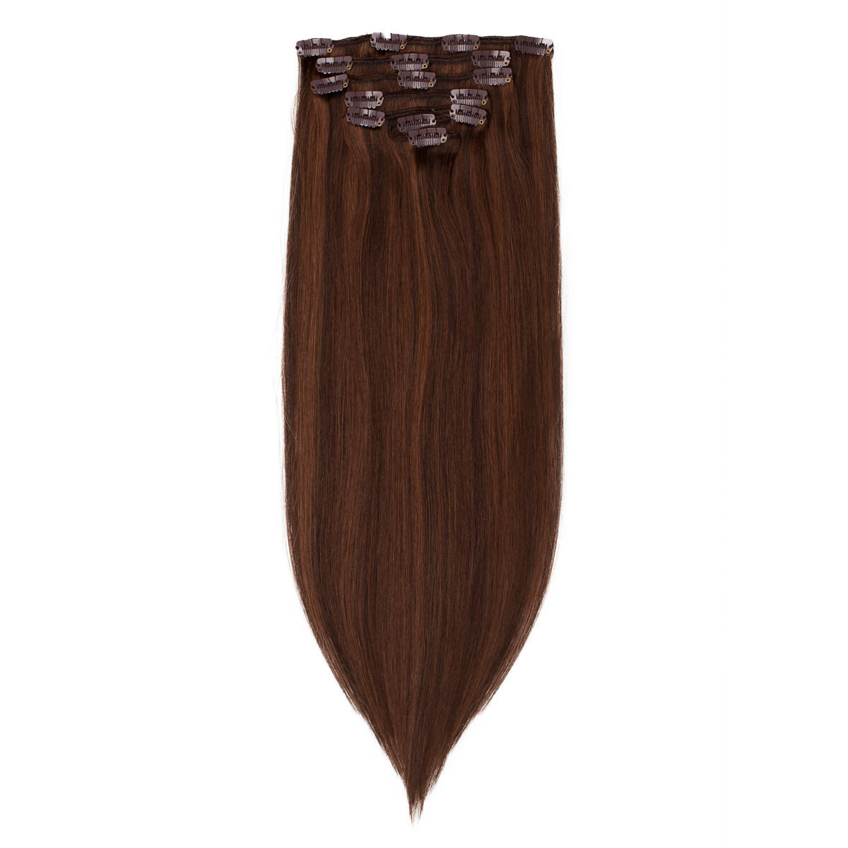 Clip-on set M23 Chad Wood Brown Mix 50 cm